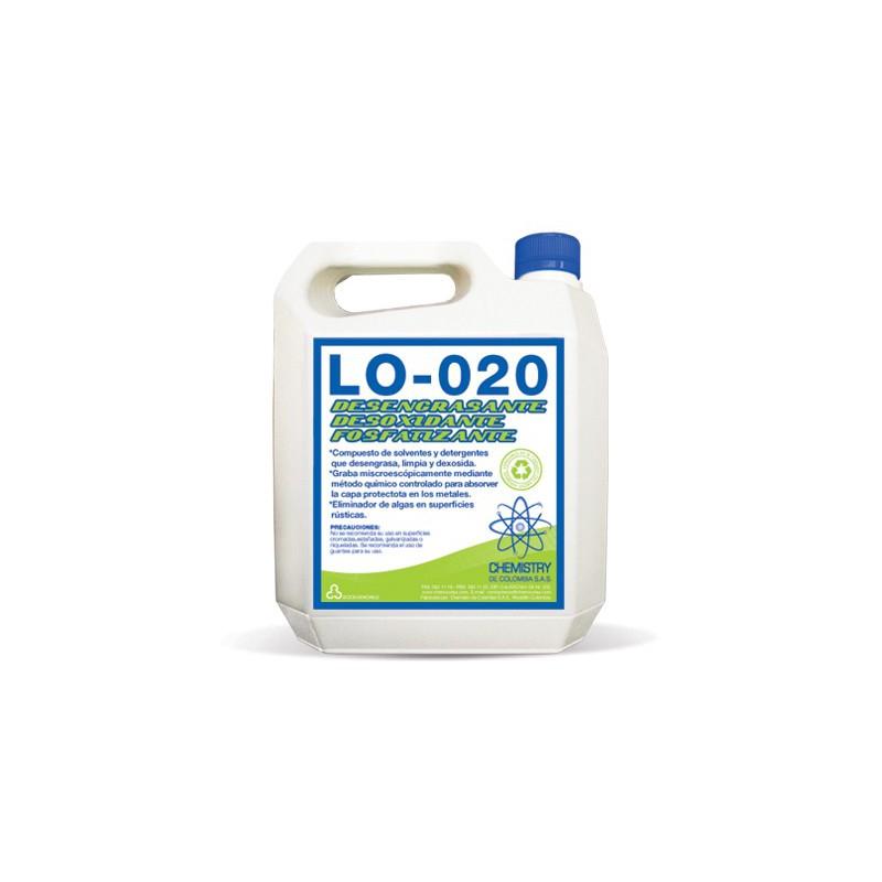 Desengrasante desoxidante fosfatizante Galón X 4 Lt