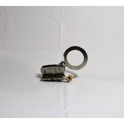 Freno En Acero Yoke  N616 Para Cuerda 11 A 14mm Con Tramo De Cuerda