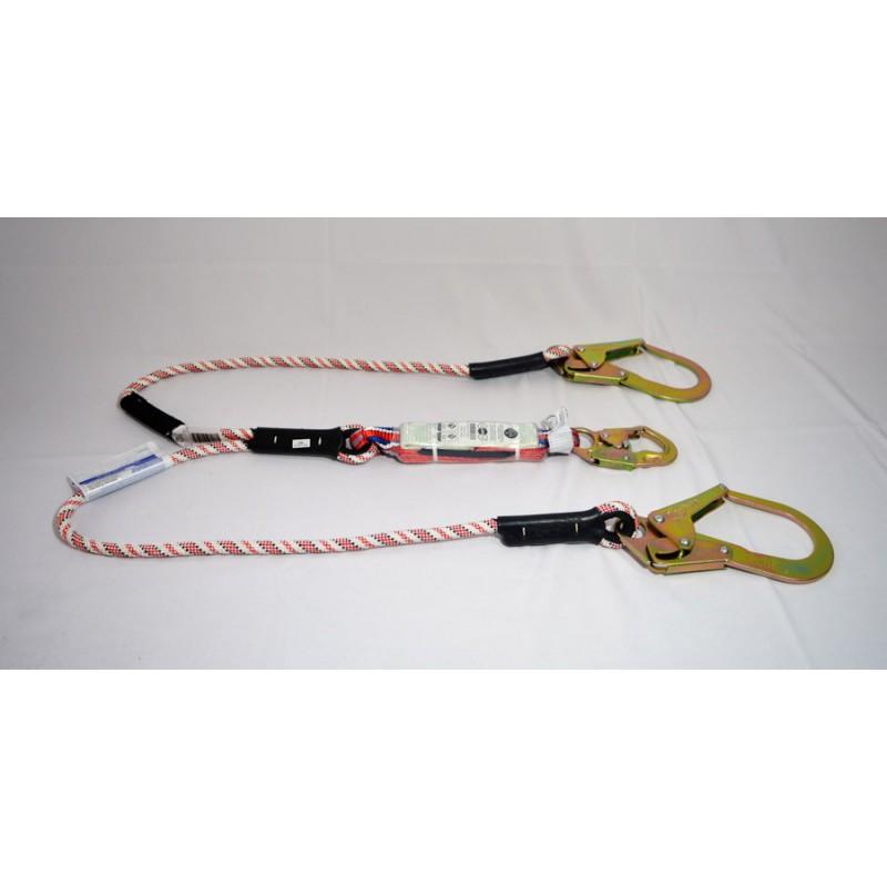 Eslinga En Cuerda, En Y, Con Absorbedor De Impacto (P 022 Rac)