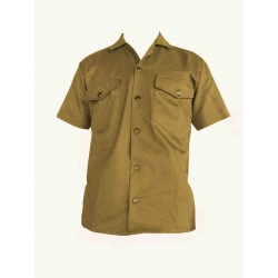 Camisa Manga Corta en Dril DAP
