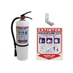 Extintor 9 Kg Solkaflam 123