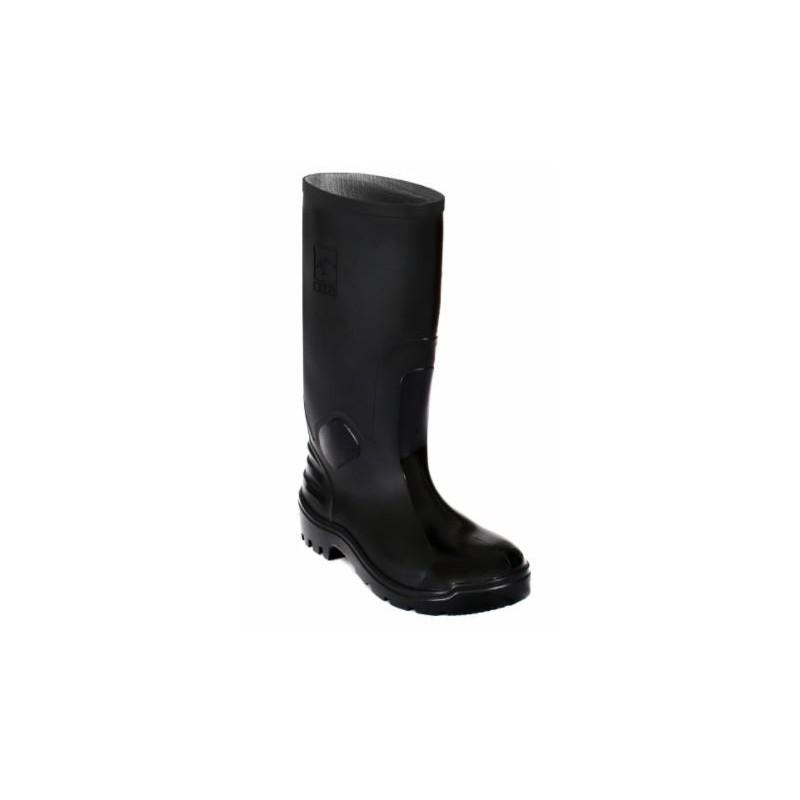 Bota pvc ats 701 negra rh Con Puntera calzado 3025 (talla 36-44)