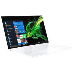 Portatil Acer Swift SF714-52T-7589 + Sleeve 14 FHD Touch Pack1 Corei7 8500Y 16GB 512GB SSD  Windows 10 Premium. White