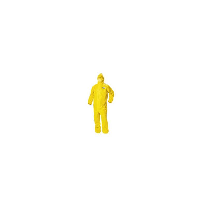 Traje amarillo con capucha jackson kleenguard a70 (para químicos)