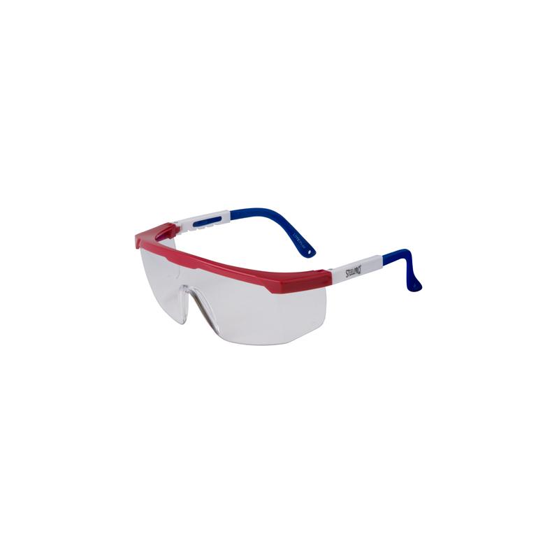 Gafa Top Gun Lente Claro Steelpro 500569