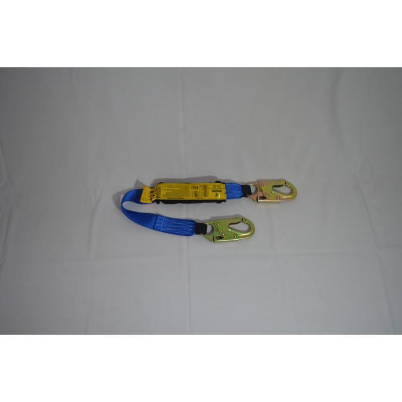 Eslinga Sencilla Con Absorvedor De Energia De 90 Cm En Reata Poliester De 45 Mm De Ancho. (A0359-90)