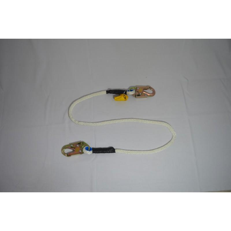 Eslinga De Posicionamiento Y/O Restricción Doble Mosqueton En Cuerda (A0356n)