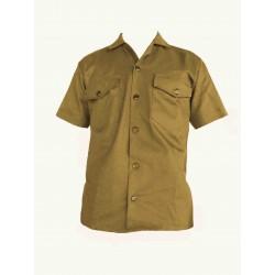 Camisa Manga Corta en Dril
