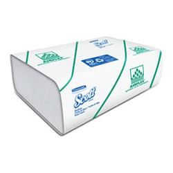 Toalla de Manos en Z 150 toallas Ahorramax Blanca x 25 Paquetes - 24,1 x 22,3- 28,5 gr