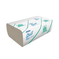 Toalla de Manos en Z  x 150 toallas x 24 paquetes Planeta Natural ¨25 x 24,5 cm¨- 40 gr- TECNOLOGIA AIRFLEX SCOTT