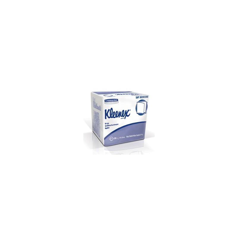 Servilletas Kleenex De Lujo  x 200 unidades - Cuadrada ¨33 x 33 cm¨