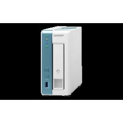 Nas Qnap Torre 1-Bay Ts-131k-Us Armv7 Cortex-A9 Dual Core 1.2ghz, Ddr3 512mb, 1xglan