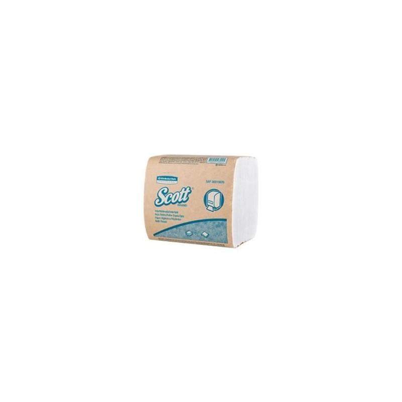 Papel Higiénico Doble hoja Blanco x 36 paquetes x 250 hojas Dispensado UNO A UNO - BULK PACK