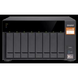 Nas Torre 8-Bay Qnap Ts832x2g Alpine Quad Core 1.7ghz, Ddr4 2gb (Max 16gb), 4xlan