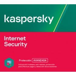 Kaspersky Internet Security | 1 a 10 dispositivos | 1 a 3 años