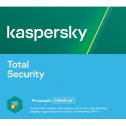 Kaspersky Total Security | 1 a 10 dispositivos | 1 a 3 años