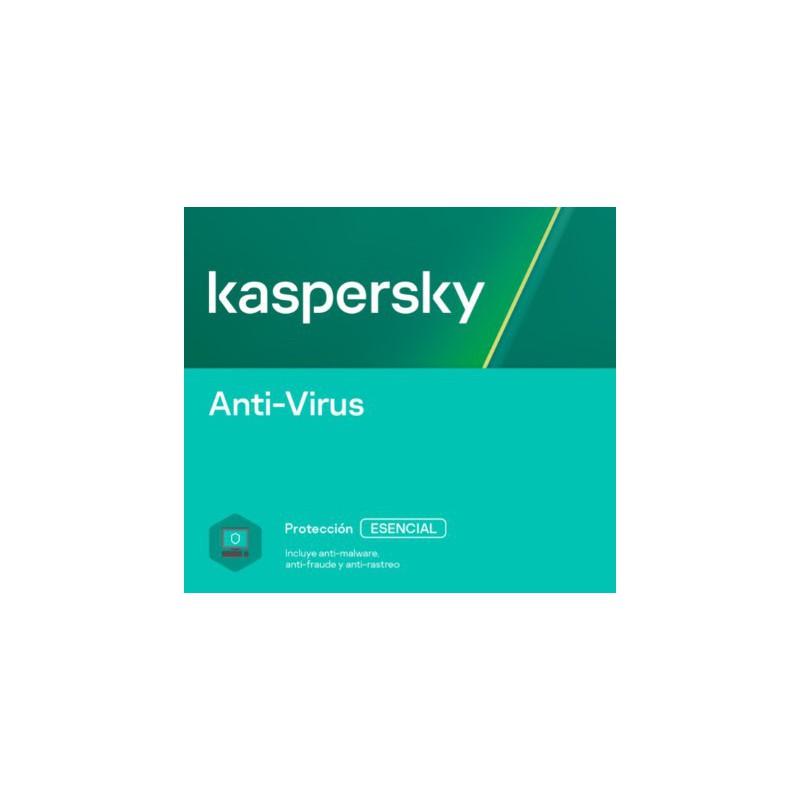 Antivirus Kaspersky | 1 a 10 dispositivos | 1 a 3 años