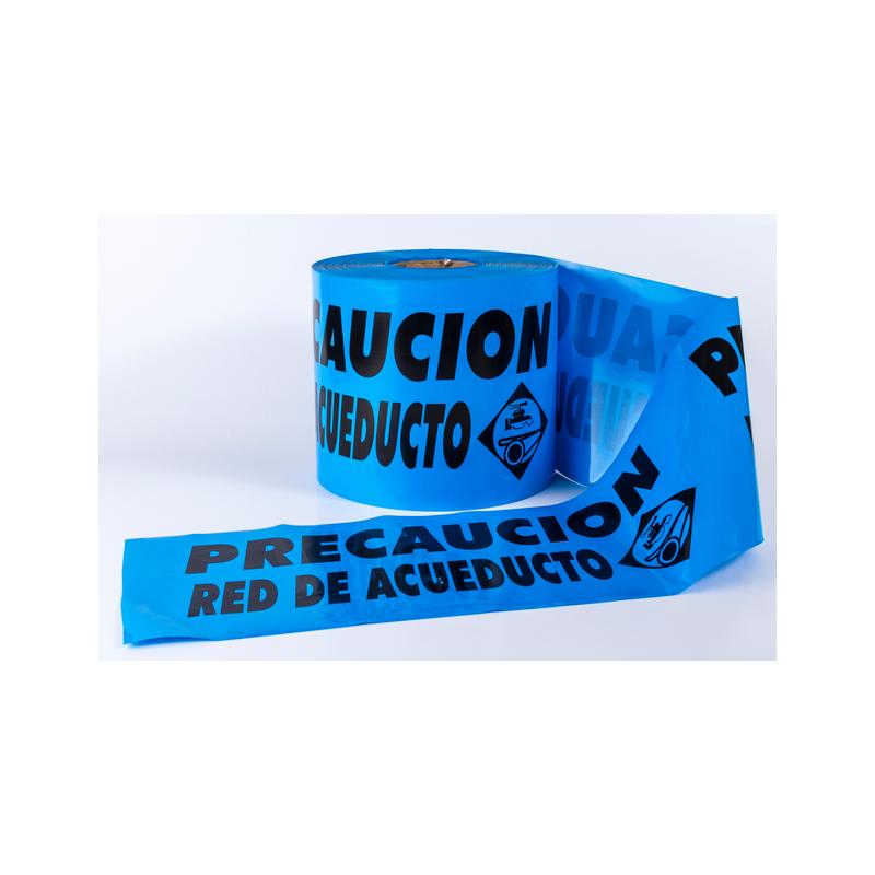 Cintas De Acordonamiento De Acueducto Azul X 300 Metros