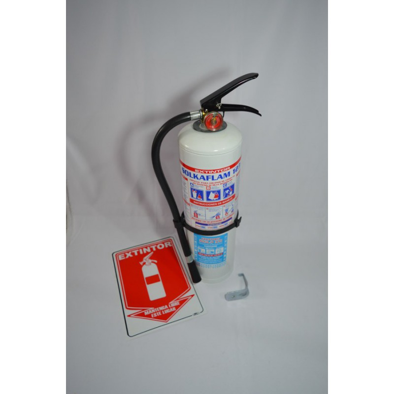 Extintor 4 Kg Solkaflam 123