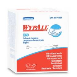 Wypall X 60 x 50 Paños Quarterfold (35 x 28 cm)-