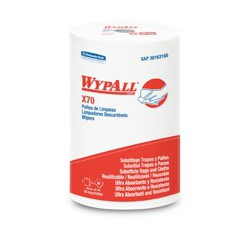 Wypall x 88 Paños Regular Roll (42 x 28 cm)- SUPERFICIES LISAS Wypall X70 Regular Roll