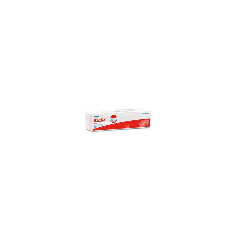 Wypall X70 x 50 PañosInterfold Doble ancho(42 x 50 cm)-WYPALL X70 TRABAJO MEDIANO Y SUPERFICIES LISAS