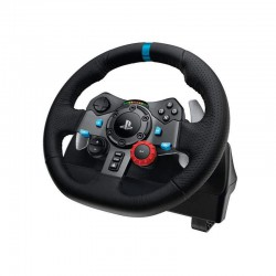 TIMON G29 Logitech Gaming Español Timón de Carreras Con Pedales USB Ingles Compatible PlayStation 3/PlayStation 4/PC USB Garan