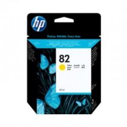 Cartucho de tinta HP 82 DesignJet amarillo de 69 ml
