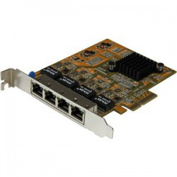 Tarjeta Red Ethernet Gigabit 4 Puertos