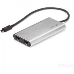 Adaptador Thunderbolt 3 a Doble HDMI 4K