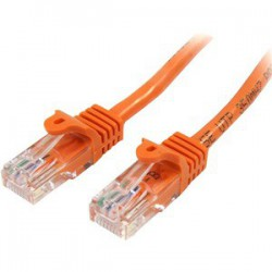 2m Orange Snagless UTP Cat5e Patch Cable