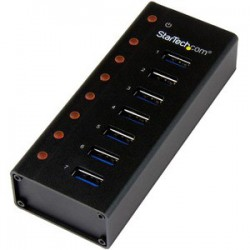7 Port USB 3.0 Hub - Desktop /Wall-Mount