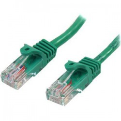0.5m Green Snagless Cat5e Patch Cable