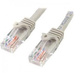 Cable de Red de 0,5m Gris Cat5e Ethernet