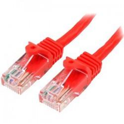Cable de Red 0.5m Rojo Cat5e