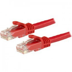 15 m Red Snagless Cat6 UTP Patch Cable