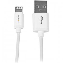 1m White 8-pin Lightning to USB Cable