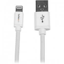 2m White 8-pin Lightning to USB Cable