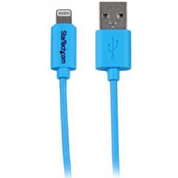 1m Blue 8-pin Lightning to USB Cable