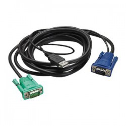 INTEGRATED LCD/KVM USB CABLE -6FT (1.8M)