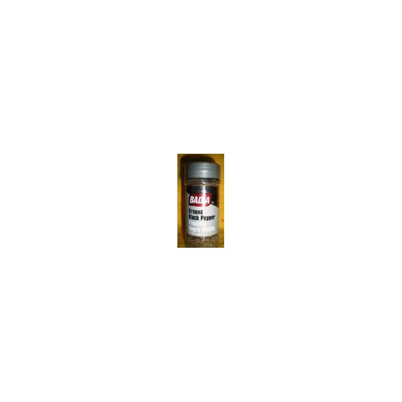 Pimienta Negra Molida Badia x 56.7gr