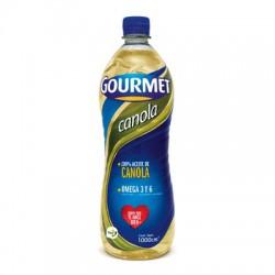 Aceite Gourmet Canola x 1000cc