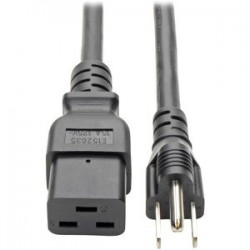 Computer Power Cable, C19 to 5-15P