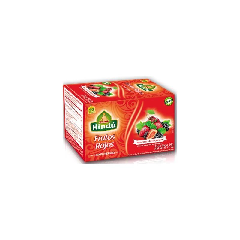 Te Hindu Frutos Rojos x 20 Sobres