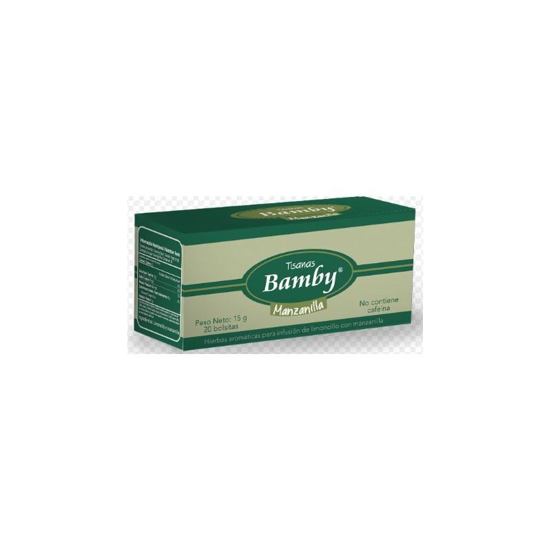 Aromatica Bamby Manzanilla Caja x20