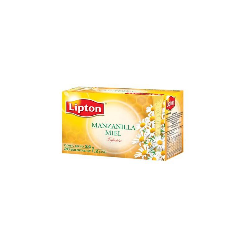 Aromatica Lipton Manzani-Miel x20x1gr