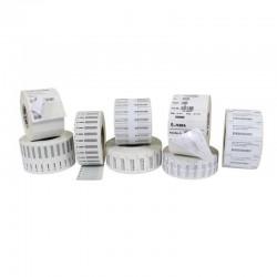 Label, Rfid, 02.36 Pulgadas X 0.98 Pulgadas 60X25Mm , White Coated Pp, 3In 76.2Mm Core, 500/Roll, 1/Box, Plain   Printer Sumini