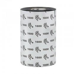 Wax Ribbon, 156Mmx450M, 1600, Economy Wax, 25Mm Core   Printer Suministros - Impresoras De Etiquetas Cintas Cera Serie S4M, Zt2