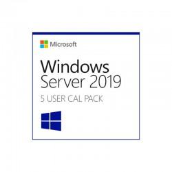 Licencia Windows Server - 5-pack of Windows Server 2019 Remote Desktop Serv, Device, CK