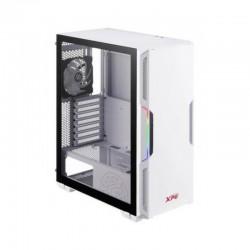 Chasis gamer XPG by ADATA STARKER Blanco / ATX / Vidrio templado X1 / 1 Fan cooler ARGB + 1 Fan Cooler Standard + Fuente de pode